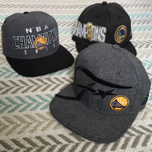 NBA Accessories - Golden State Warriors 3 Hat Bundle 11d025486039